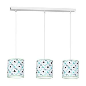 Multicolor Hanging Lamp Dino 3x E27 small 0