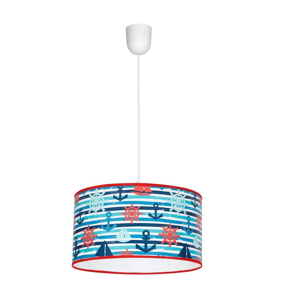 Multicolor Marine 1x E27 Hanging Lamp