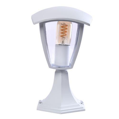 Fox White 1x E27 Small Standing Garden Lamp IP44