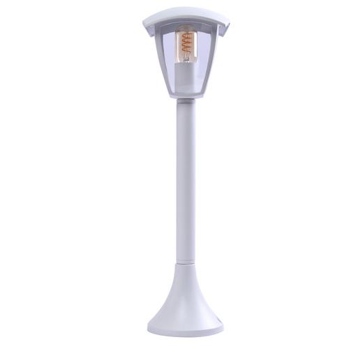 Fox White Standing Garden Lamp 1x E27 Large IP44