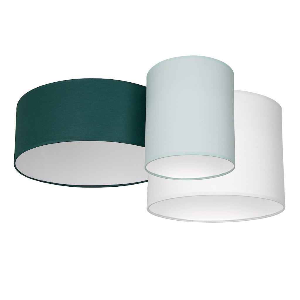 Multicolor Ceiling Lamp Stan Green 3x E27