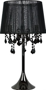 Mona black wall lamp small 2