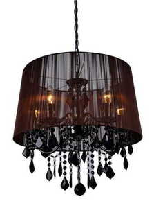 Mona black wall lamp small 8