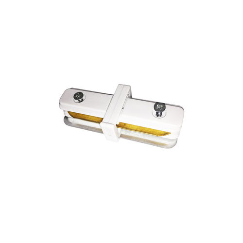 connector Track Light White Lamps Straight type
