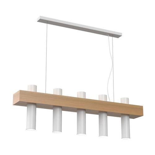 West White Hanging Lamp 5x Gu10