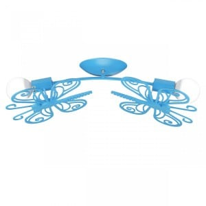 Butterfly sconce blue small 3