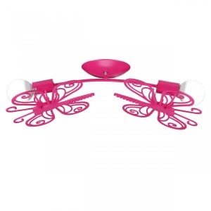 Butterfly 2 ceiling lamp red small 0