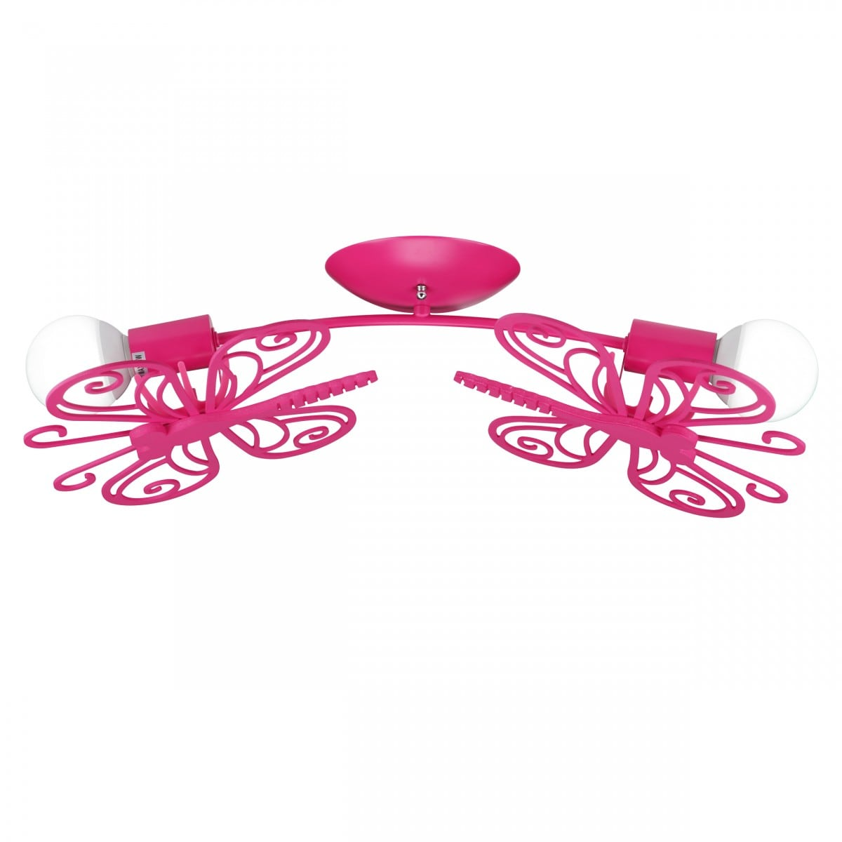 Butterfly 2 ceiling lamp red