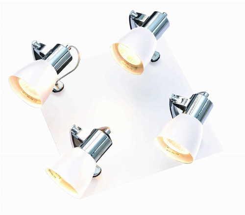 Ravenna 4 white ceiling lamp