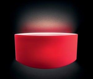 Wall light Leucos Link Parete Micro Rosso small 0