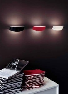 Wall light Leucos Link Parete Micro Rosso small 3