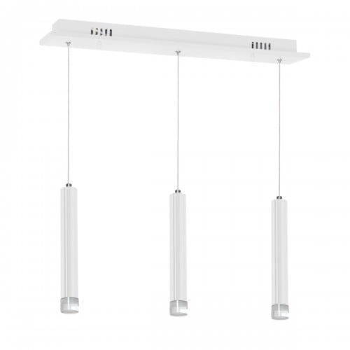 Hanging lamp Milagro ALBA 189 Matte white 15W