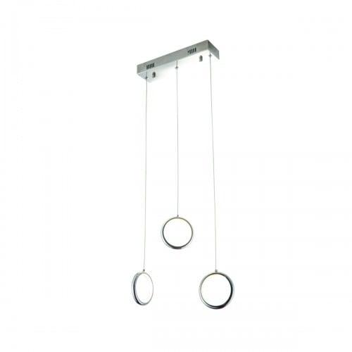 Hanging lamp Milagro ANELLO 271 Chrome 21W