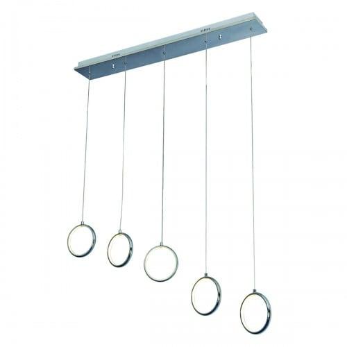 Hanging lamp Milagro ANELLO 272 Chrome 35W