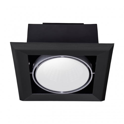 Recessed luminaire Milagro BLOCCO 472 Black LED 7W 3000K