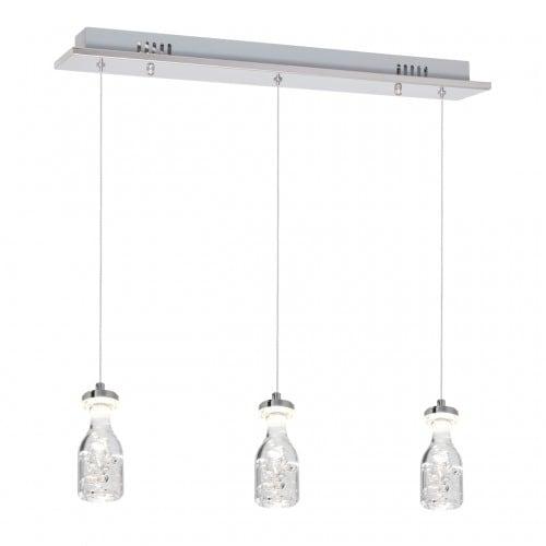 Hanging lamp Milagro BOTTLE 433 Chrom 15W