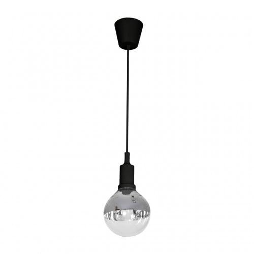 Lampa wiszaca milagro bubble black 456 czarny 5w l