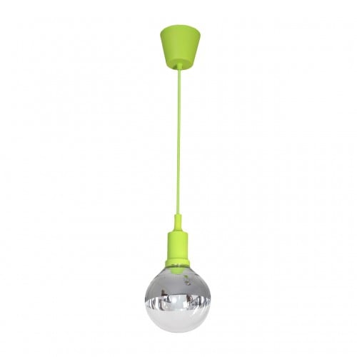 Hanging lamp Milagro BUBBLE LIME 458 Green 5W