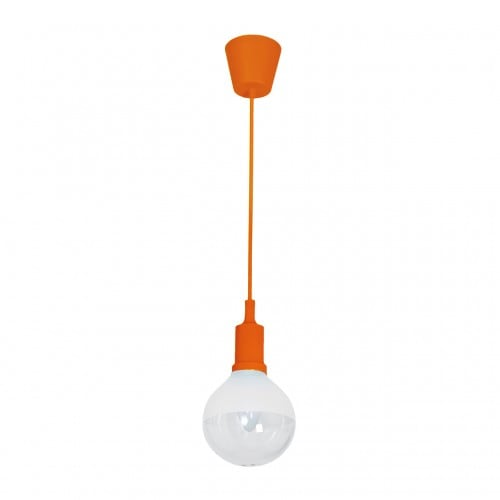 Hanging lamp Milagro BUBBLE ORANGE 460 Orange 5W