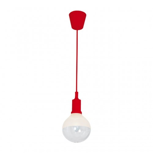Hanging lamp Milagro BUBBLE RED 462 Red 5W