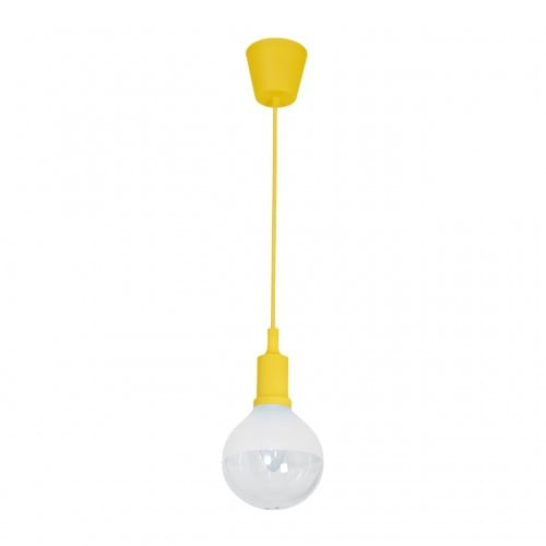 Hanging lamp Milagro BUBBLE YELLOW 463 Yellow 5W