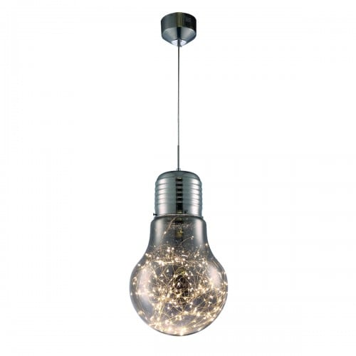 Hanging lamp Milagro BULB 134 Chrome 13W