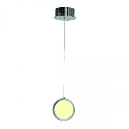Hanging lamp Milagro CIRCOLO 264 Chrome 7W