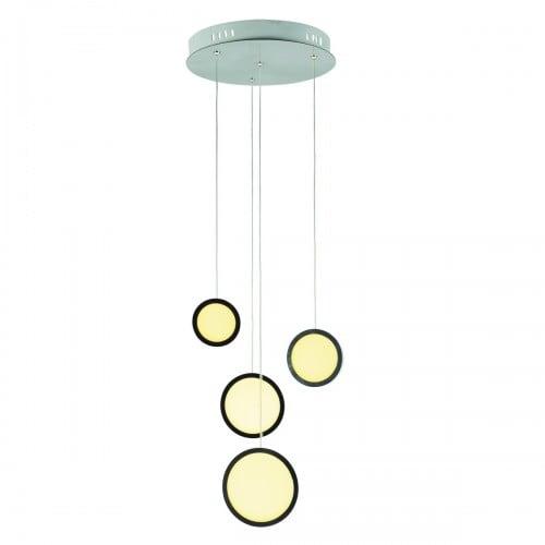 Hanging lamp Milagro CIRCOLO 265 Chrome 29W