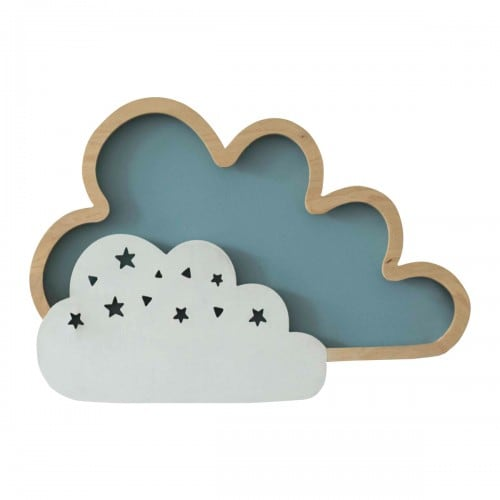 Wall lamp Clouds Blue 8W