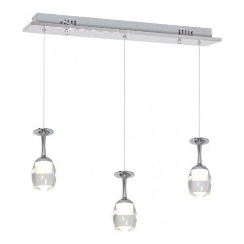 Hanging lamp Milagro COPPA 438 Chrom 15W