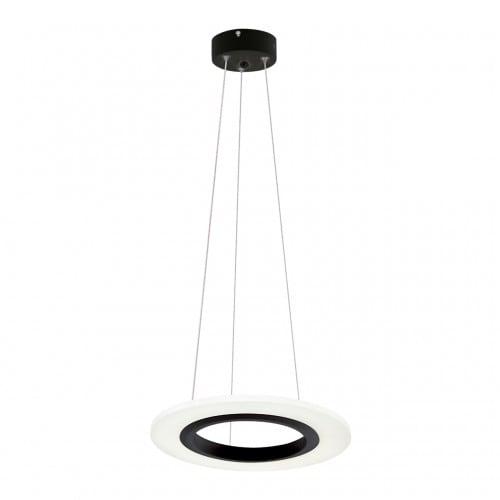 Hanging lamp Milagro COSMO 345 Sand black 12W