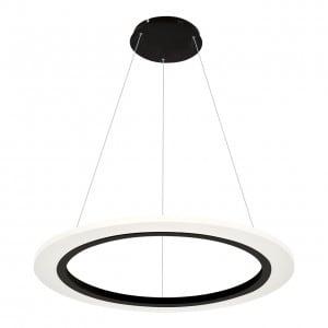 Lampa wisząca Milagro COSMO 347 Piaskowy czarny 24W