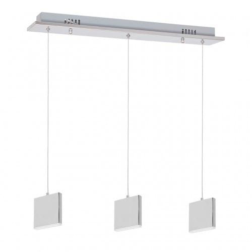 Hanging lamp Milagro CUADRA 443 Chrom 15W
