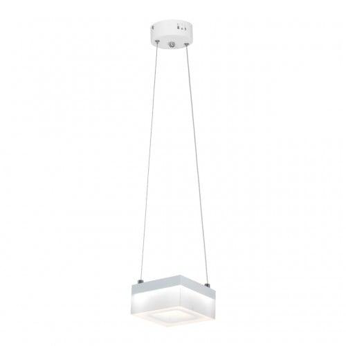 Hanging lamp Milagro CUBO 444 Sand white 12W