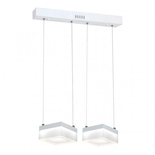 Hanging lamp Milagro CUBO 445 Sand white 24W