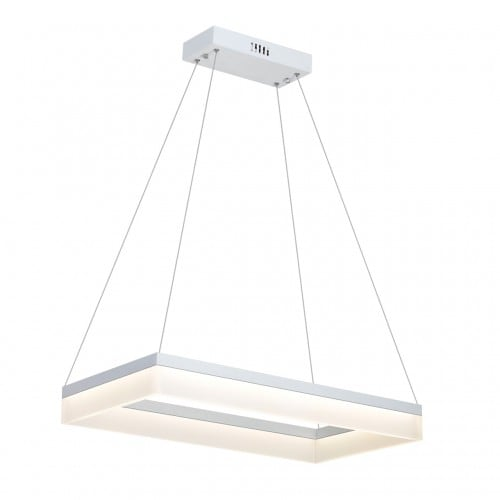 Hanging lamp Milagro CUBO 447 Sand white 24W