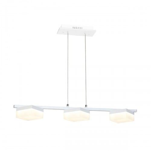 Hanging lamp Milagro CUBO 161 Sand white 36W