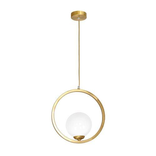 Brass Hanging Lamp Vienna 1x E14