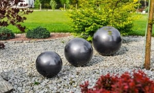 Decorative Ball for the Garden. Choice of colors 22 cm small 11