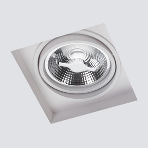 White Spot Arctico AR111 flush-mounted without frame small 1