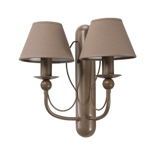 Double WIKTOR wall lamp No. 1854