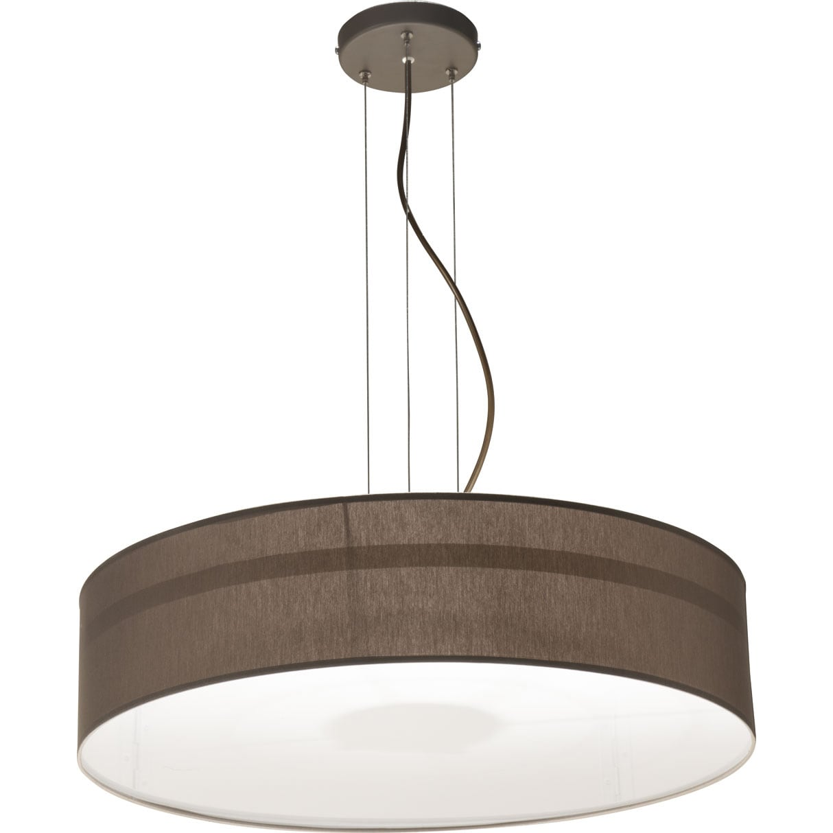 Modern Brown Hanging Lamp DUNAJEC