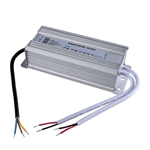 60W Ip67 IP67 Led Power Supply