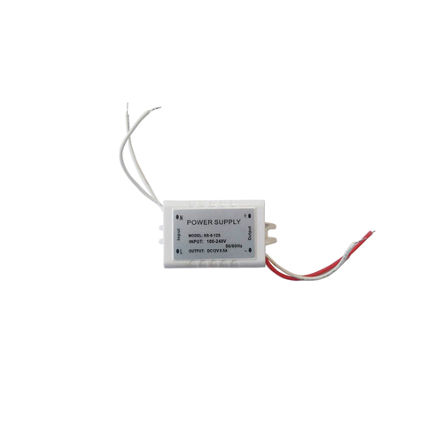 Silver LED Power Supply 6W IP44