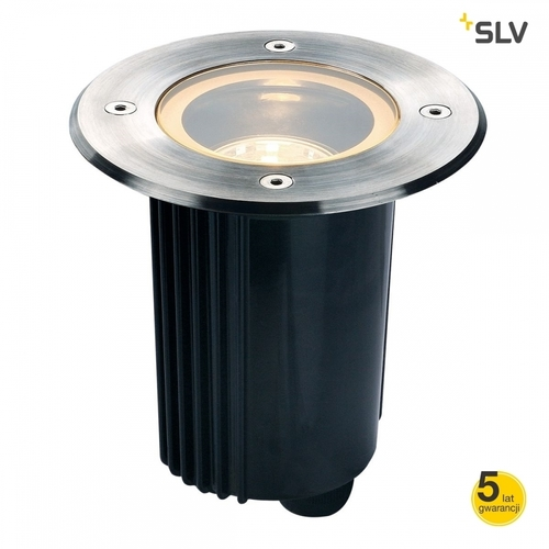 Overrun lamp SLV DASAR 115 GU10 ROUND IP67