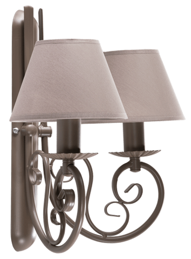 Double wall lamp KANDYD No. 2601