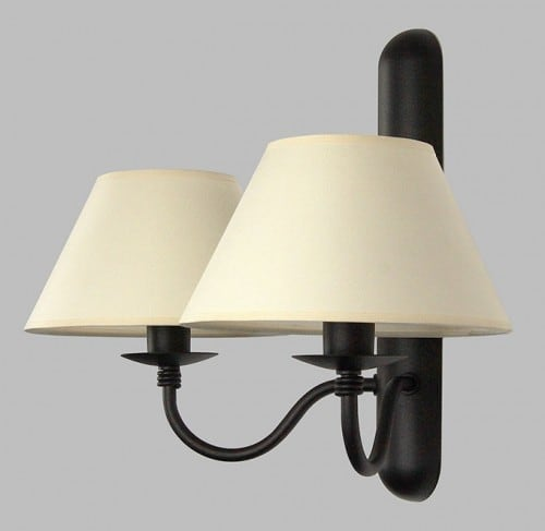 Double wall lamp PUGA No. 1484/1
