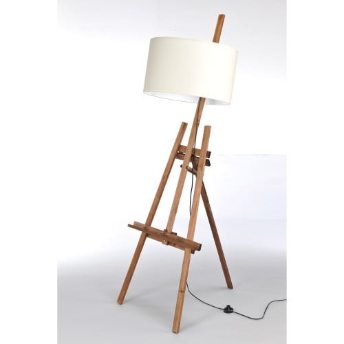 Standing Lamp SZTALUGA DARK WOOD No. 2457