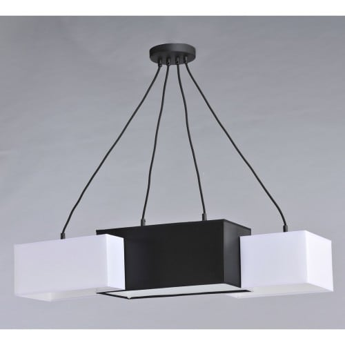 Black and White TETRIS Pendant Lamp No. 3734