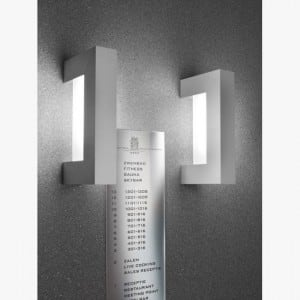 Wall light DeltaLight Backspace 26 W EVG 274.80.26.E fluorescent lamp FREE small 4